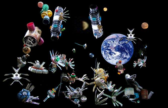 SpaceJunk72 WARNING! mulai tahun 2012 sampah akan berjatuhan dari luar angkasa